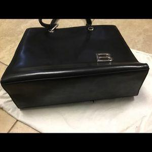 Balenciaga Bags - *SOLD** Balenciaga black leather tote bag